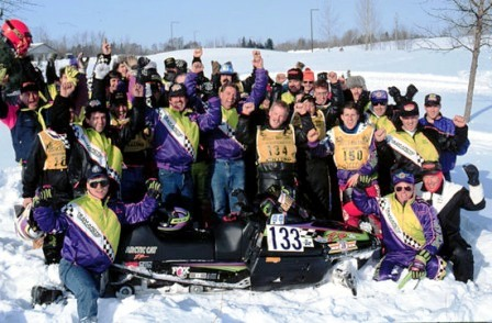 Team Arctic racers at the 1993 I-500