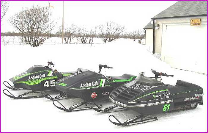Arctic Cat Zs from BossCatLegacy.com