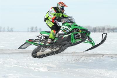 Team Arctic's Dan Ebert on Day 2 of the I-500