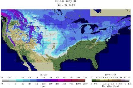Snow Depth 2.2.11