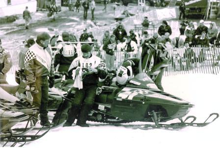 Al (left) and Kirk Hibbert at the '93 Jackson Hole Championships