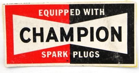 Champion snowmobile spark plugs