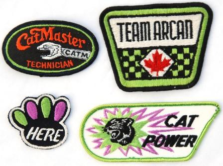 Some cool Arctic Cat-related patches
