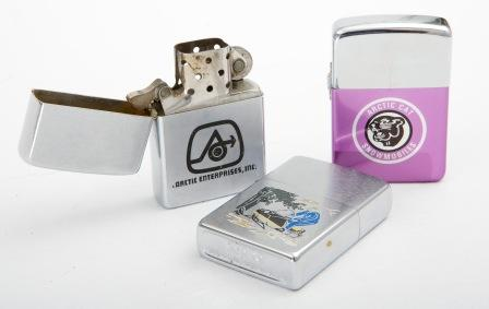 If you smoke, use Arctic Cat lighters to spark-up