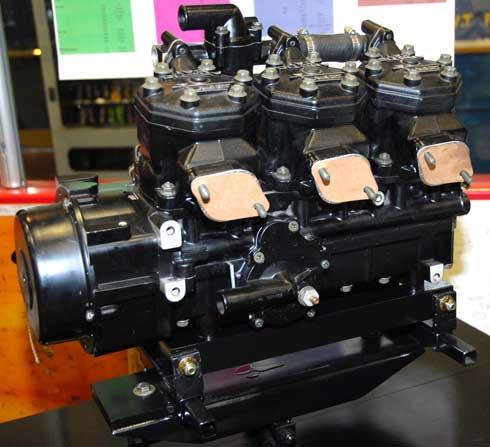 Prototype 500cc triple