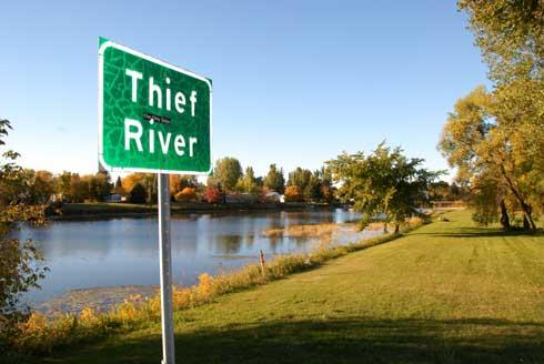 The namesake river in my favorite town