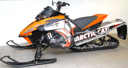 New Arctic Cat Graphics Kits for 2012 snowmobiles