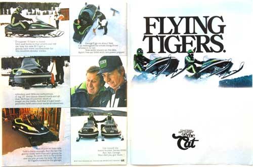 1978 Arctic Cat Flying Tigers Ad