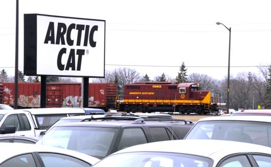 Arctic Cat in TRF