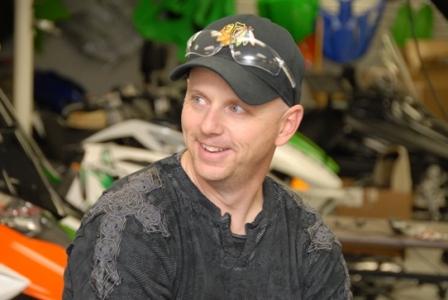 Corey Friesen at Arctic Cat