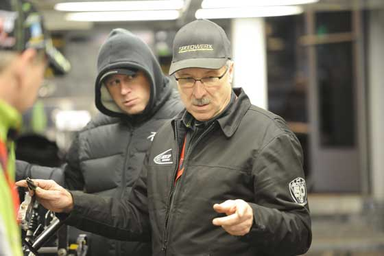 Russ Ebert and Mike Kloety of Team Arctic