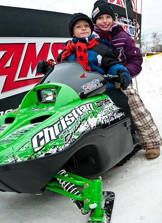 Christian Bros. Racing giveaway of Arctic Cat 120