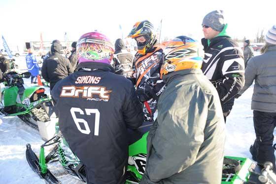 Christian Bros. Racing team at Grafton