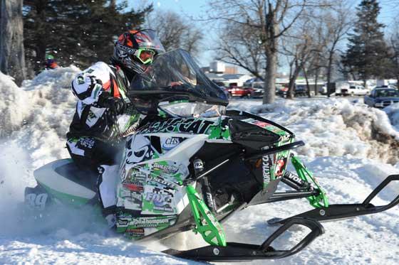 Team Arctic Cat racer, Cody Kallock