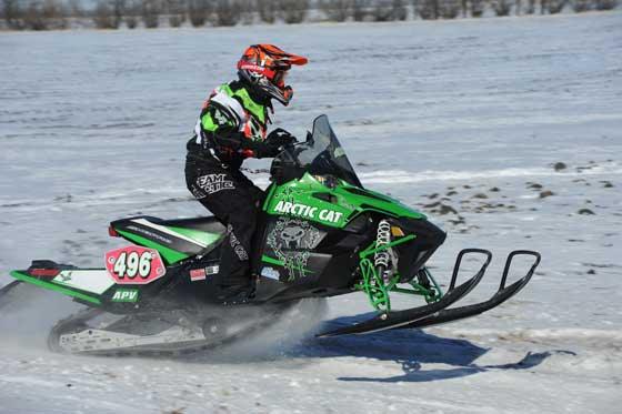 Team Arctic Cat racer, Kelsey Pladson