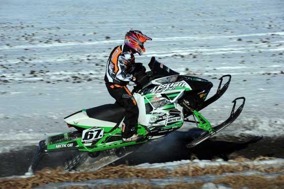 Team Arctic Cat racer, Ryan Simons