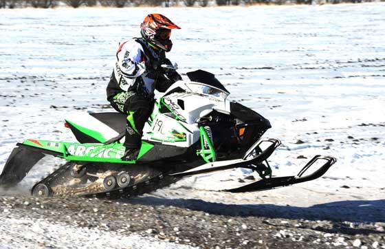 Jon Arneson, Team Arctic cross-country racer