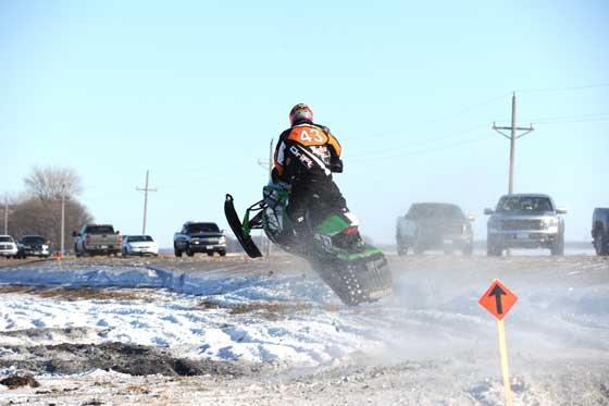 Logan Christian, Team Arctic Cat racer