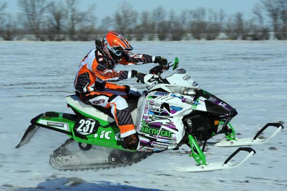 Benjamin Langaas, Team Arctic Cat cross-country