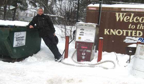 John's Sanitation Service, just another of my many jobs