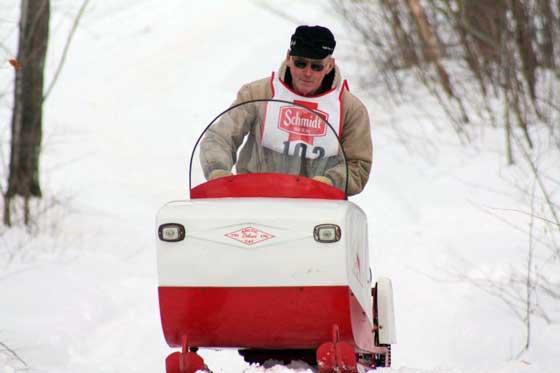 Antique Arctic Cat snowmobiles from ASCOA