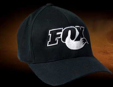 FOX hat looks cool, and your sled will work better too
