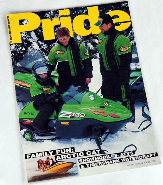 Pam and Al Cwikla on the cover of Pride Magazine