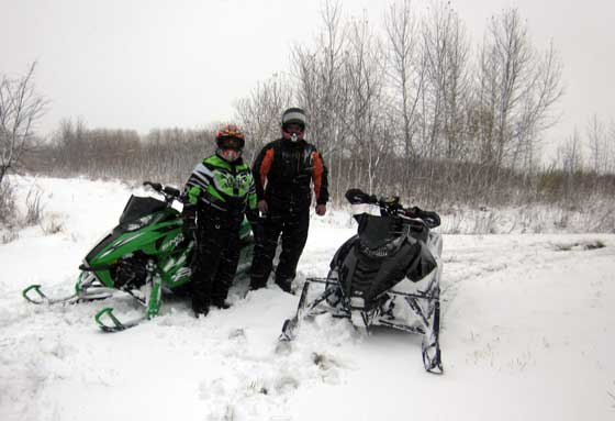 2012-13 Arctic Cat October Shakedown Ride
