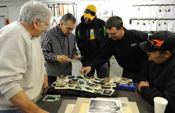 Spending a day with Leon Raiter and Leroy Kapsner, for Arctic Cat Styling dept.