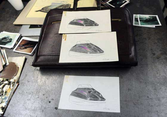 Original drawings of Arctic Cat products