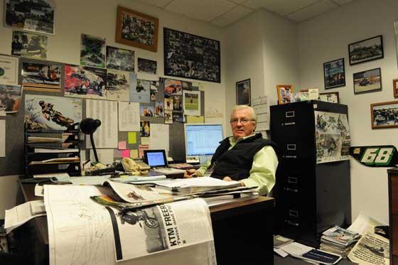Roger Skime of Arctic Cat, photo: ArcticInsider.com