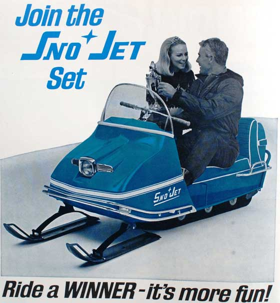 I'm joining the Sno Jet set for high-flying snowmobile action