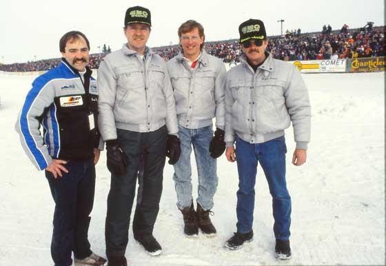 Eagle River World Champions Brad Hulings, Bob Elsner, Jim Dimmerman & Roger Janssen