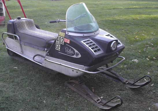 A 1969 Arctic Cat Panther for Christmas