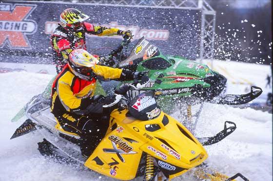 Blair Morgan & sometimes-teammate Earl Reimer at Lake Geneva '02 by ArcticInsider.com
