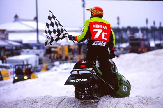 Blair Morgan wins Pro Mod at Canterbury 2001. Photo: ArcticInsider.com