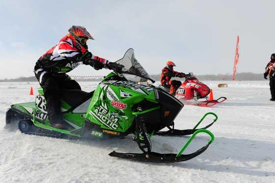 Brian Dick, Arctic Cat racer and engineer, photo: ArcticInsider.com