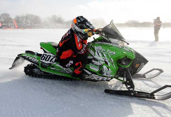 Team Arctic Cat racer Jordan Torgerson. Photo by ArcticInsider.com