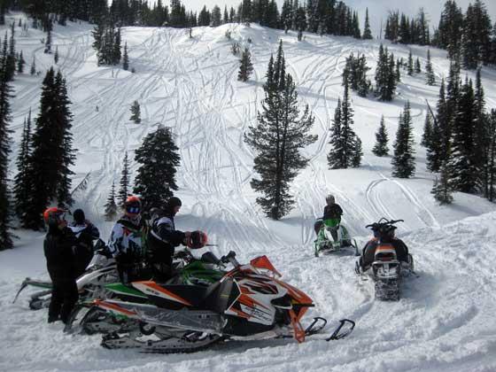 The Arctic Cat Mountain Test Team