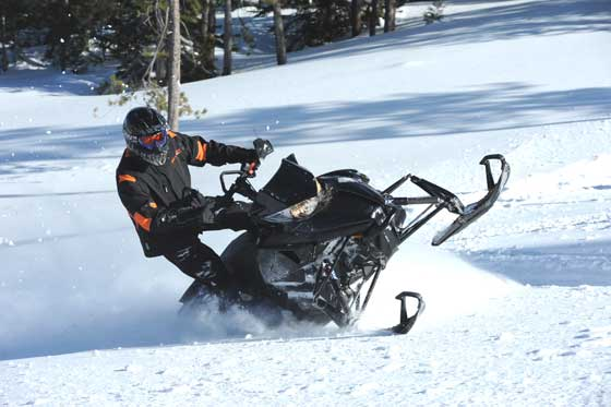 Arctic Cat Mountain test rider and racer Todd Tupper