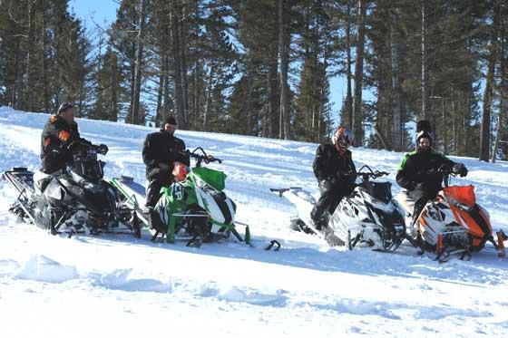 Arctic Cat test riders compare notes