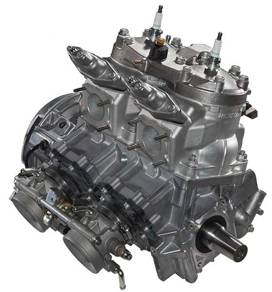 2014 Arctic Cat 600 C-TEC2 2-stroke Engine with DSI