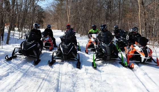 235 miles among friends: Arctic Cat Demo Ride Day