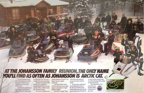 Another version of the Johansson Family Reunion by ArcticInsider.com