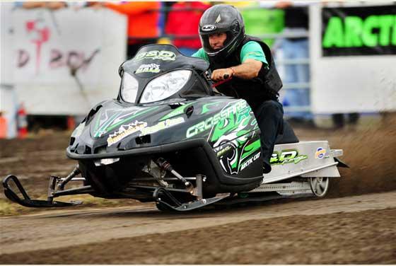 Glenn Hall, Team Arctic drag racer