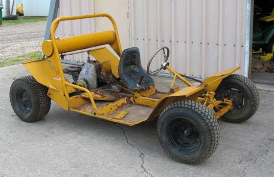 Prototype Arctic Cat Dune Buggy owned by Stephen Knox