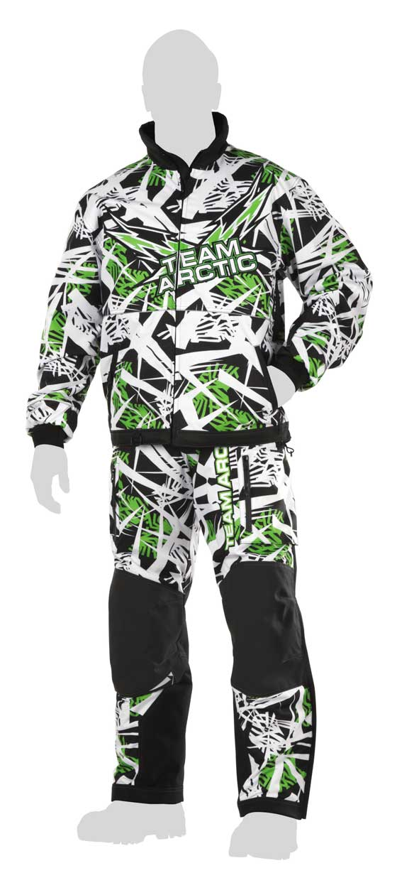 Arctic Cat Freezone snowmobile jacket and pants