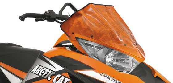Arctic Cat Windscreen for snowmobiles