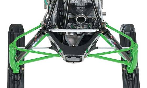 Arctic Cat ProCross/ProClimb chassis with independent front suspension