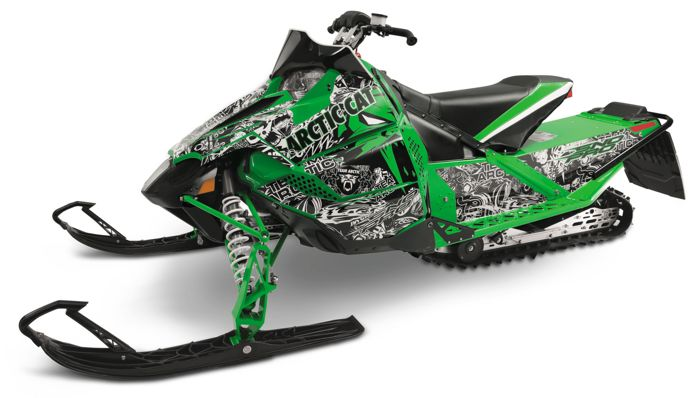CHAOS Cat Wrap from Arctic Cat for the Sno Pro 500